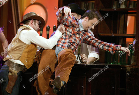 PAUL USHER AND DECLAN DONNELLY