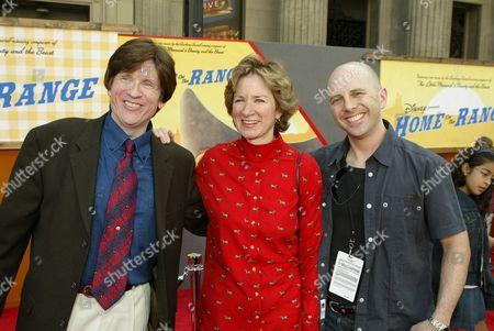 Stock Picture of Will Finn, Alice Dewey Goldstone and John Sanford