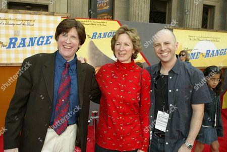 Will Finn, Alice Dewey Goldstone and John Sanford