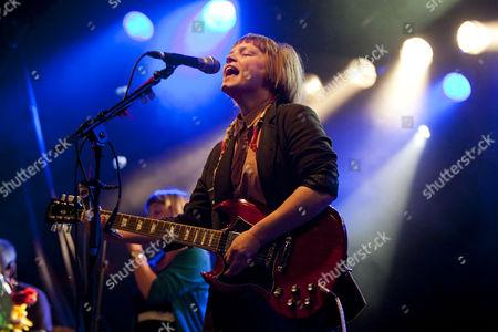Wallis Bird, the Irish singer-songwriter and musician, live at the Schueuer, Lucerne, Switzerland, Europe