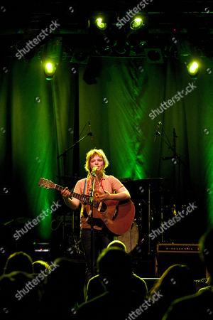 Stock Photo of Wallis Bird, the Irish singer-songwriter and musician, live at the Schueuer, Lucerne, Switzerland, Europe