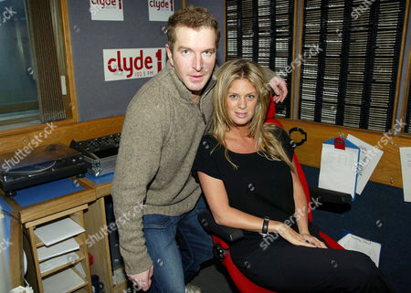 GEORGE BOWIE WITH RACHEL HUNTER