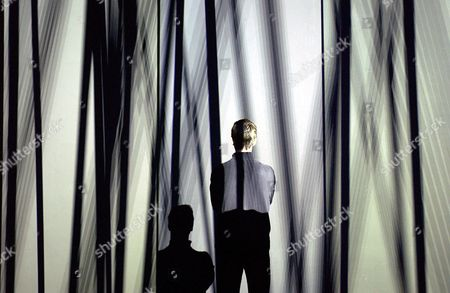 Stock Photo of HALUK AKAKCE HIS PROJECTION 'ILLUSION OF THE FIRST TIME'
