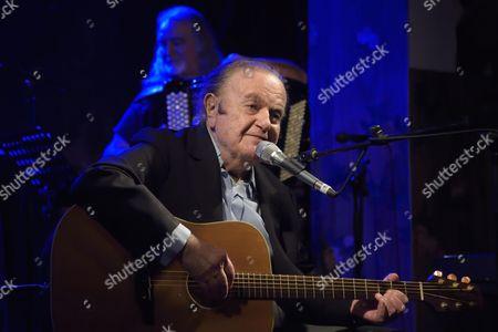 Editorial image of Guy Beart in concert at Le Reservoir, Paris, France - 19 Feb 2015