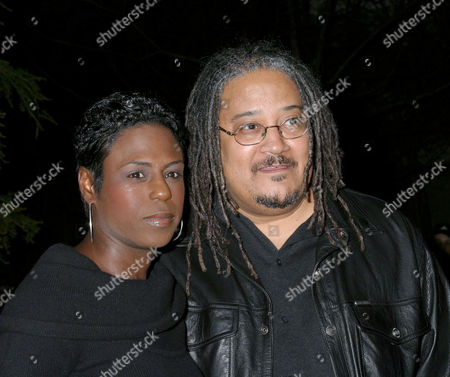 Ernest Dickerson with his wife