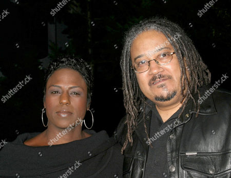 Ernest Dickerson with wife