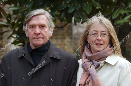TOM COURTENAY AND WIFE