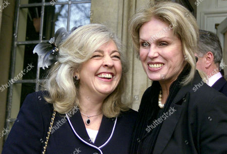 LUCY WILLLIAMS WITH JOANNA LUMLEY