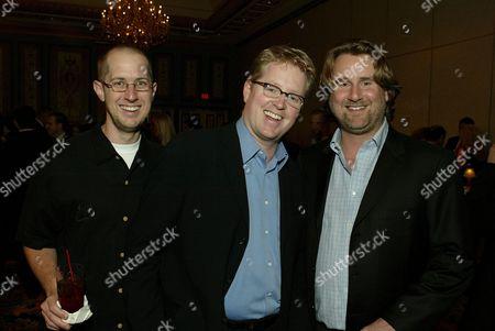 Stock Image of Oren Jacobs, Andrew Stanton & Graham Walters