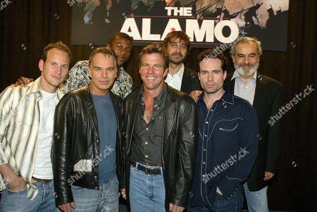 Patrick Wilson, Billy Bob Thornton, Edwin Hodge, Dennis Quaid, Jordi Molla, Jason Patric and Emilio Echevarria
