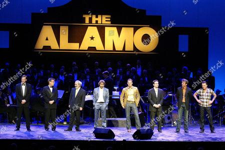 Director John Lee Hancock, Producer Mark Johnson, Emilio Echevarria, Jordi Molla, Patrick Wilson, Jason Patric, Dennis Quaid and Billy Bob Thornton.