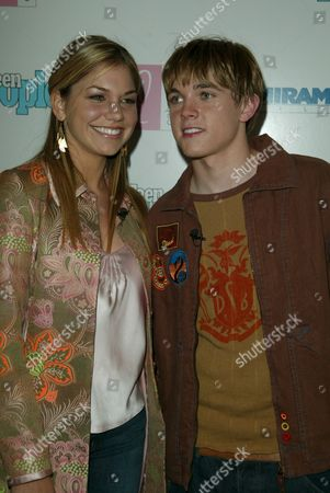 Stock Picture of Kari Kimmel and Jesse McCartney