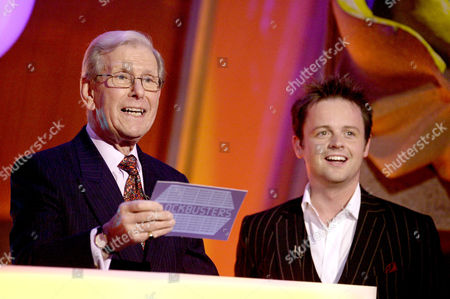 Bob Holness and Declan Donnelly