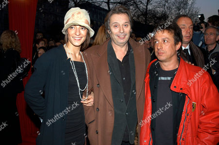 PATRICK BOUCHITEY WITH GIRLFRIEND AND COMPOSER ERIC SERRA