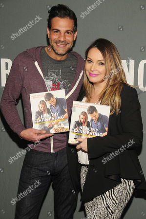 Editorial photo of Angie Martinez promotes her cookbook 'Healthy Latin Eating', New York, America - 26 Feb 2015