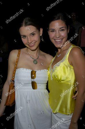 Kristina Anapau and Melissa Lewis