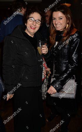 Stock Image of Rebecca King Lasman and Carla Filmer