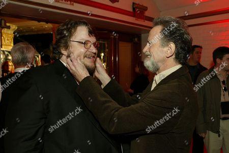 Guillermo del Toro and Lawrence Gordon