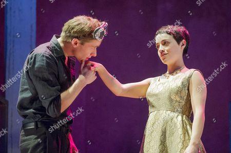 Audrey Brisson as Juliet, Joseph Drake as Romeo