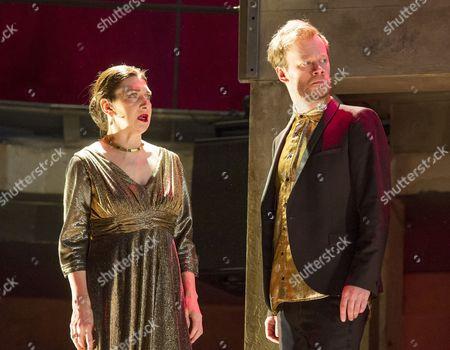 Maureen Beattie as Lady Capulet, Felix Hayes as Tybalt