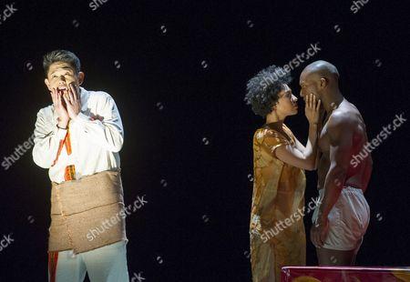 Vince Yi as Hunahpu, Noah Stewart as Don Pedro,  Julia Bullock as The Indian Queen,