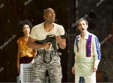 Julia Bullock as The Indian Queen, Noah Stewart as Don Pedro, Anthony Roth Costanzo as Ixbalanque,