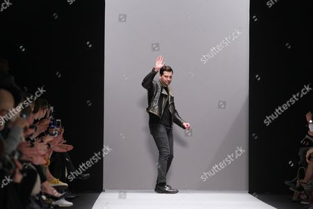Stock Picture of Marcel Marongiu on the catwalk