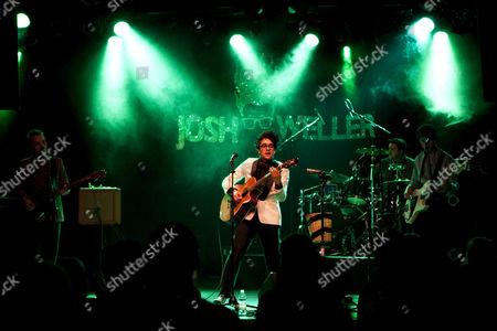 The British singer-songwriter Josh Weller live at the Schueuer Concert Hall, Lucerne, Switzerland