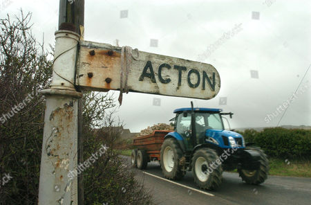 The rural village of Acton, Swanage in Dorset where Richard Pearce attempted to poison his neighbours