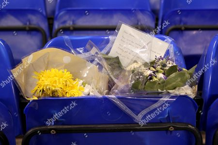 Floral tribute to the late Dave Mackay