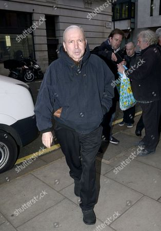 Editorial image of Frank Sinatra Jr outside BBC Radio 2 studios, London, Britain - 04 Mar 2015