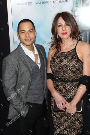 Jose Pablo Cantillo and Kristi Cantillo
