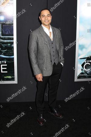 Editorial photo of 'Chappie' film premiere, New York, America - 04 Mar 2015