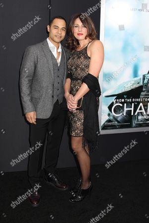 Jose Pablo Cantillo and wife Christie