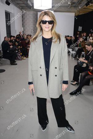 Editorial photo of Cedric Charlier show, Autumn Winter 2015, Paris Fashion Week, France - 04 Mar 2015