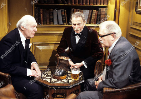 Stock Picture of John Horsley, Alfred Burke and Nigel Stock