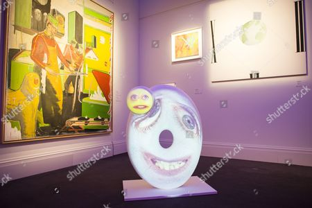 Crunch by Tony Oursler 1957. est. £10,000-15,000