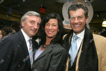 Julian Niccolini, Lisa Niccolini and Alfredo Pecora