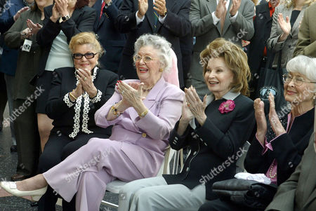 Esther Williams, Ann Rutherford, Cora Sue Collins and Betty Garrett
