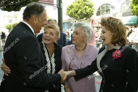 Editorial image of TED TURNER HONORED WITH A STAR ON THE 'HOLLYWOOD WALK OF FAME', CALIFORNIA, AMERICA - 07 APR 2004
