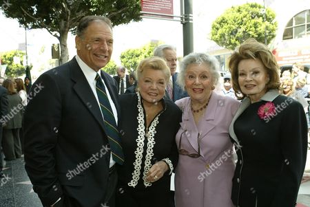 Stock Image of Edward Bell,Esther Williams, Ann Rutherford, Cora Sue Collins