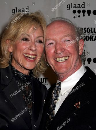 Stock Image of Judith Light with Herb Hamsher