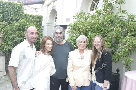 Linda Bruckheimer, Jake Bloom, Ruth Bloom and Rebecca Bloom