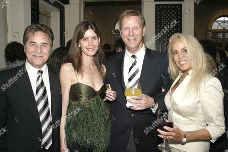Don Johnson, Kelley Phleger, Bob Einstein 'Super Dave Osbourne' and wife Roberta Einstein