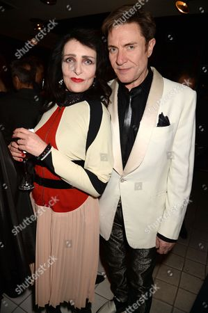 Siouxsie Sioux and Simon Le Bon