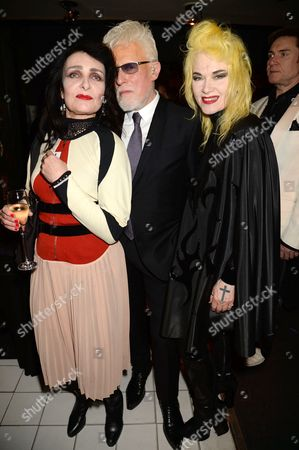 Siouxsie Sioux, Antony Price and Pam Hogg
