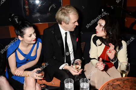 Nick Rhodes, Nefer Suvio and Siouxsie Sioux