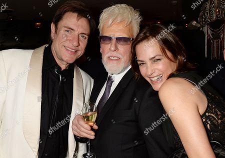 Simon Le Bon, Antony Price and Yasmin Le Bon