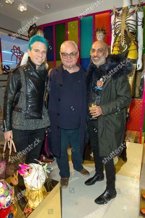 Guest, Mickey Boardman and Manish Arora