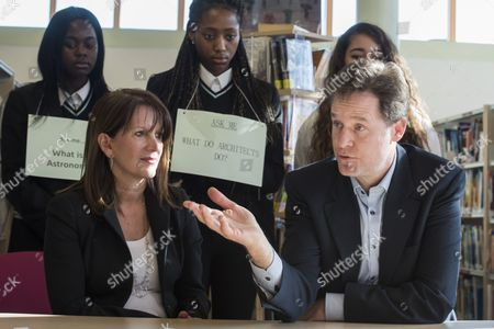 Lynne Featherstone and Nick Clegg